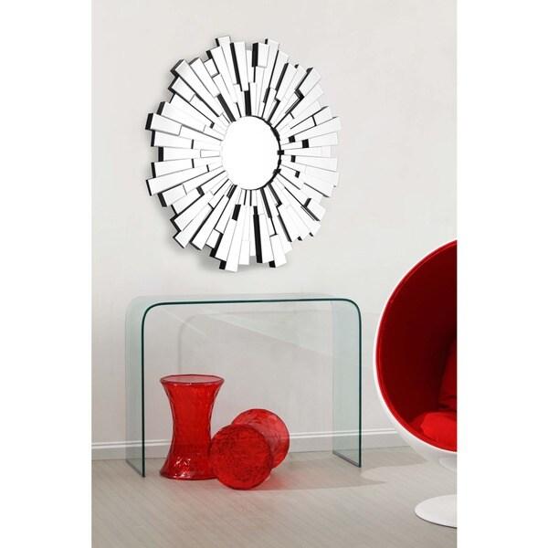 Burst Circular Wall Mirror - Clear. Opens flyout.