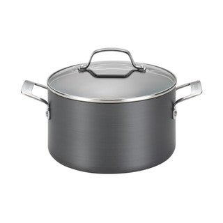 Circulon Genesis Hard-anodized Nonstick 4 1/2-quart Covered Dutch Oven