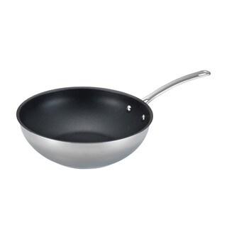 Circulon Genesis Stainless Steel Nonstick 12 1/4-inch Stir Fry