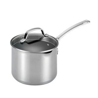 Circulon Genesis Stainless Steel Nonstick 3-quart Covered Straining Saucepan