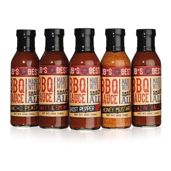 igourmet Beer-infused BBQ Sauce Collection