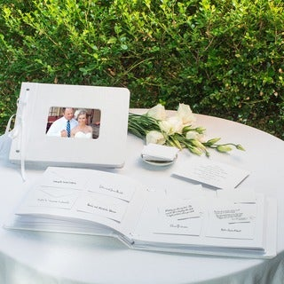 Wedding Wishes Envelope Guest Book