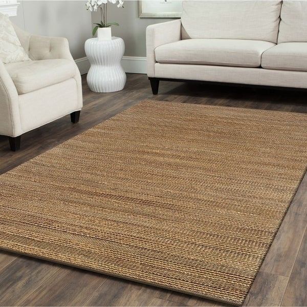 LR Home Hand Loomed Natural Fiber Sonora Biscay Jute/ Chenille Rug - 9' x 12'