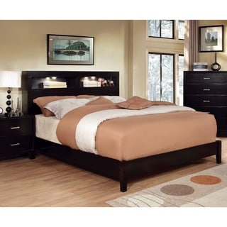 Furniture of America Biaz Contemporary Platform Bed w/ Lighting