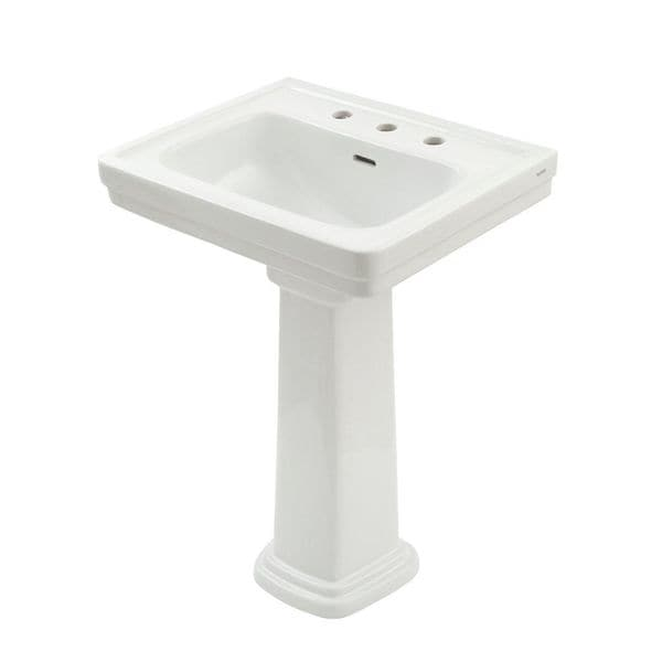 19 Inch Pedestal Sink : TOTO LPT532.4N Promenade Lavatory and Pedestal with 4-Inch Centers ...