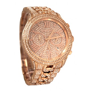 Michael Kors Women's MK5900 Lindley Goldtone Stainless Steel Glitz Watch