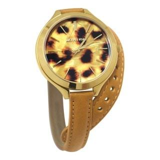 Michael Kors Women's MK2327 Slim Runway Double Strap Watch