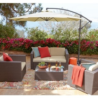 the-Hom Cane Garden 5-piece Patio Set