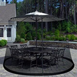 Pure Garden Bug Screen For 7.5 Foot Outdoor Umbrella https://ak1