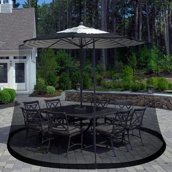pure garden bug screen for 7 5 foot outdoor umbrella