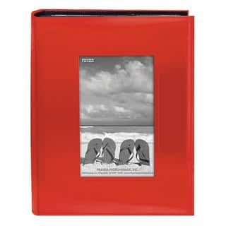 Pioneer Photo Albums 200-pocket Bright Orange Leatherette Frame Cover Album (2 Pack)|https://ak1.ostkcdn.com/images/products/9207102/P16377924.jpg?impolicy=medium