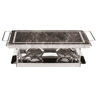 Paderno World Cuisine 41315-04 Stone Grill Set