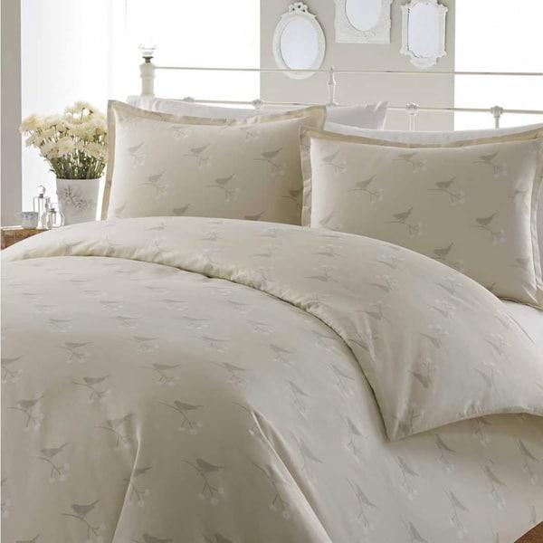Laura Ashley Nightingale 3-piece Cotton Duvet Cover Set