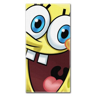 Spongebob Squarepants Big Smile Beach Towel