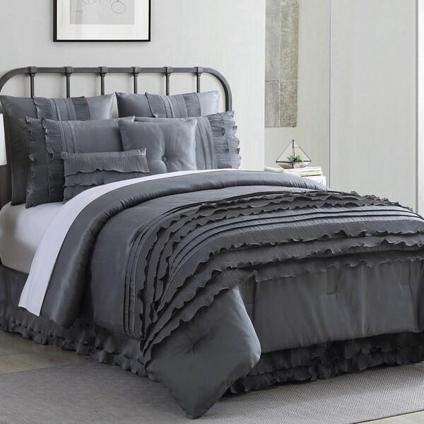 Modern Threads Giselle 8-piece Embellished Comforter Set. Opens flyout.