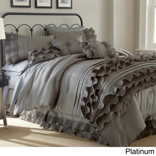 Amraupur Overseas Anastacia 8-piece Embellished Comforter Set (2 options available)