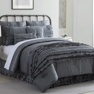 Amrapur Overseas Anastacia 8-piece Embellished Comforter Set (4 options available)