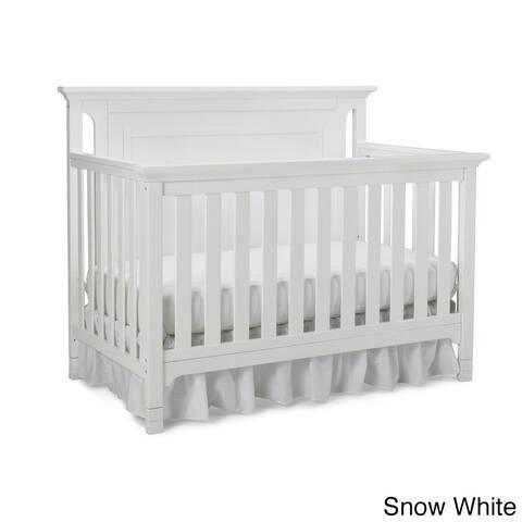 Ti Amo Carino 4-in-1 Convertible Crib Snow White
