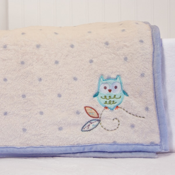 Shop Nurture Imagination Nest Coral Fleece Blanket Free