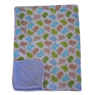 Nurture Imagination Nest Luxe Printed Blanket