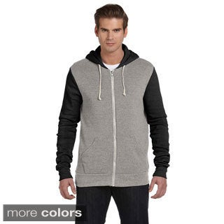 Alternative Men's 'Rocky' Colorblocked Full-zip Hoodie