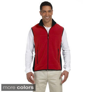 Polartec Colorblocked Full-zip Fleece Vest (Option: 4xl)