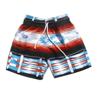 Azul Swimwear Boys Sante Fe Print Swim Shorts