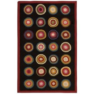 Nourison Everywhere Kitchen Black Accent Rug (8' x 11')