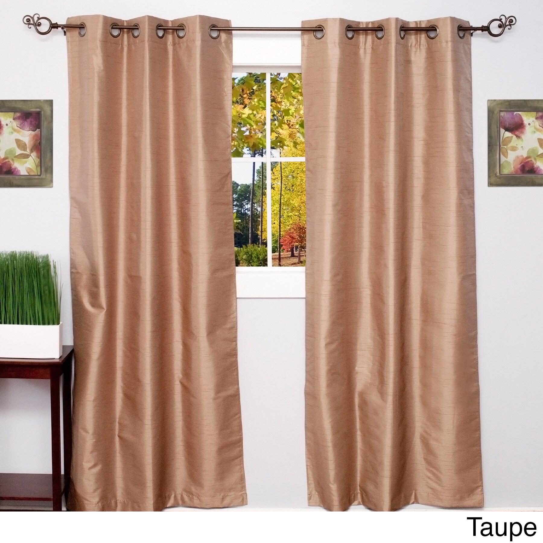 Thermal Blackout Grommet Top Curtain Panel Pair