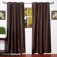 Thermal Blackout Grommet Top Curtain Panel Pair - 38 x 84