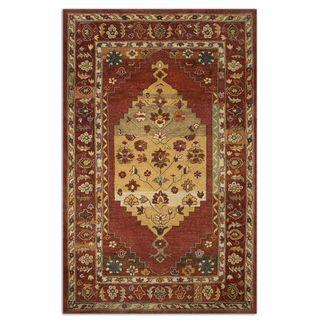 Uttermost Estelle Red Wool Rug (8 x 10)