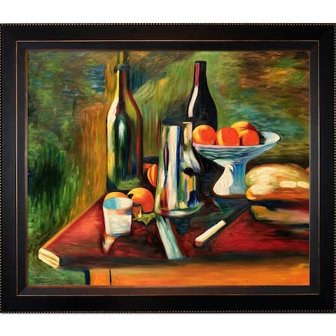 Henri Matisse 'Still Life with Oranges' Hand-painted Framed Canvas Art