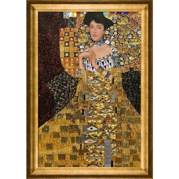shop gustav klimt 39 portrait of adele bloch bauer i luxury. Black Bedroom Furniture Sets. Home Design Ideas