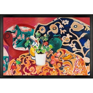 Henri Matisse 'Spanish Still Life' Hand-painted Framed Canvas Art