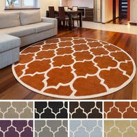 Hand-Tufted Katie Moroccan Cambridge Wool Rug - 3'6