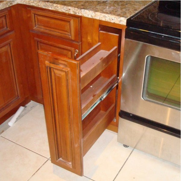 Pull Out Cabinet Base Cabinet Pull Out Shelves Pull Out: Shop Century Outdoor Living Kitchen Spice Pull-out Base Cabinet