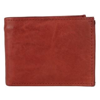 Vance Men's Genuine Leather Bi-fold Passcase Wallet