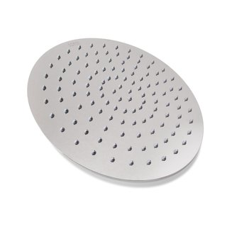BOANN 12-inch Ultra Thin Stainless Steel Round Rainfall Shower Head