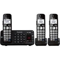 Panasonic KX-TGE243B DECT 6.0 1.90 GHz Cordless Phone - Black