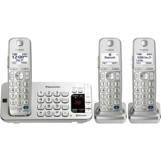 Panasonic KX-TGE273S DECT 6.0 1.90 GHz Cordless Phone - Silver https://ak1.ostkcdn.com/images/products/9208531/P16379155.jpg?impolicy=medium