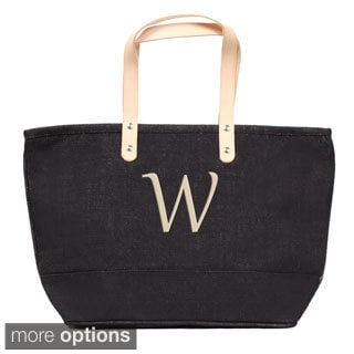 Personalized Black Nantucket Tote