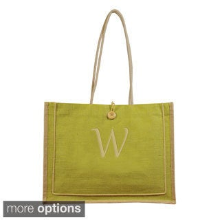 Personalized Green Newport Tote