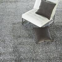 Axel Solid Silver/ Tan Area Rug (9' x 12')