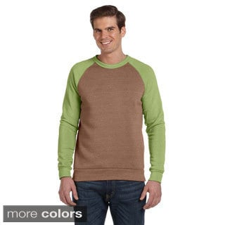 Alternative Men's 'Champ' Colorblocked Fleece Long Sleeve Tee
