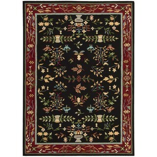 Nourison Everywhere Black Accent Rug (8' x 11')