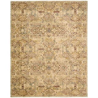 Nourison Rhapsody Light Gold Rug (7'9 x 9'9)