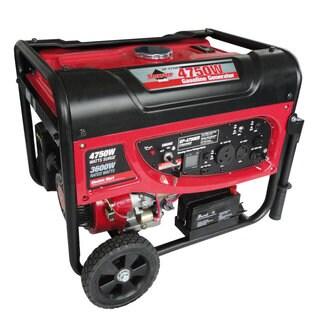 Smarter Tools 4750 Watt, 3600 Continuous Watt, Gasoline Portable Generator