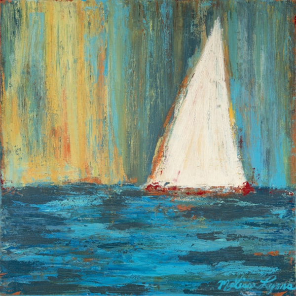 shop melissa lyons white sail paper print poster free shipping