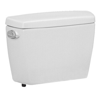 TOTO ST706-01 Carusoe Tank with 1.6 Gallon Flush System, Cotton White (Tank Only)