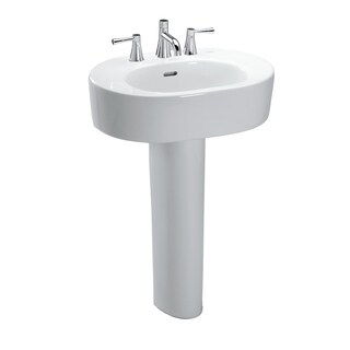 TOTO LPT790 Nexus Lavatory and Pedestal with Single Hole